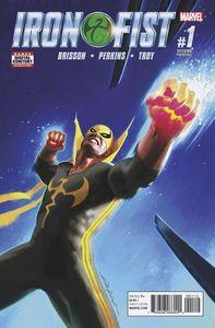 [Iron Fist #1 (2nd Printing) (Product Image)]