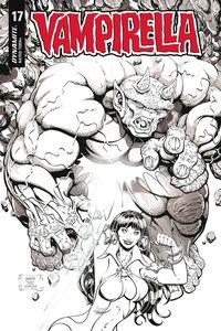 [Vampirella #17 (Robson Homage Black & White Variant) (Product Image)]