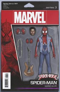 [Spider-Verse #1 (Christopher Action Figure Variant) (Product Image)]