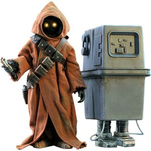 [Star Wars: A New Hope: Hot Toys Action Figures: Jawa & EG-6 Power Droid (2 Pack) (Product Image)]