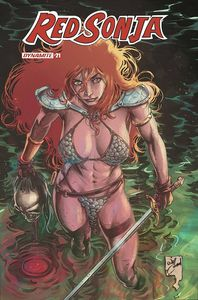 [Red Sonja #21 (Cover E Conrad Variant) (Product Image)]