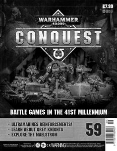 [Warhammer 40K: Conquest: Figurine Collection #59 (Product Image)]