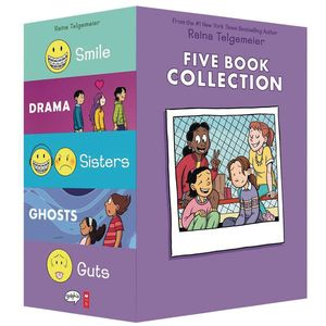 [Raina Telgemeier: Five Book Collection (Box Set) (Product Image)]