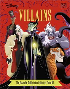 [Disney Villains: The Essential Guide (New Hardcover Edition) (Product Image)]