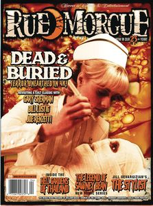 [Rue Morgue Magazine #201 (July 2021) (Product Image)]