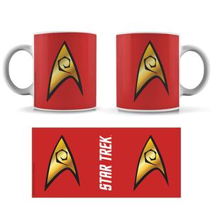 [Star Trek: The Original Series: The 55 Collection: Mug: Engineering Badge (Product Image)]