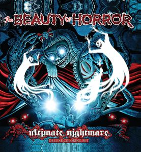[The Beauty Of Horror: Ultimate Nightmare: Deluxe Coloring Set (Product Image)]