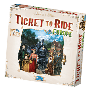 [Ticket To Ride: Europe 15th Anniversary Collector's Edition (Product Image)]
