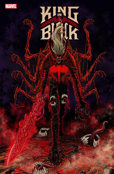[The cover for King In Black #1 (Superlog Variant)]