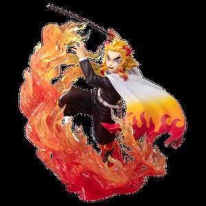 [Demon Slayer: Kimetsu No Yaiba: FiguartsZERO PVC Statue: Kyojuro Rengoku (Flame Breathing) (Product Image)]