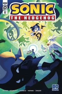 [Sonic The Hedgehog #28 (Fourdraine Variant) (Product Image)]