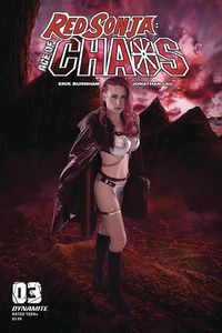 [Red Sonja: Age Of Chaos #3 (Cover E Kingston Cosplay) (Product Image)]