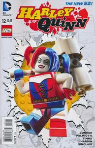 [Harley Quinn #12 (Lego Variant Edition) (Product Image)]