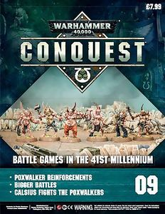 [Warhammer 40K: Conquest: Figurine Collection #9 (Product Image)]