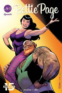 [Bettie Page: Unbound #3 (Cover C Williams) (Product Image)]