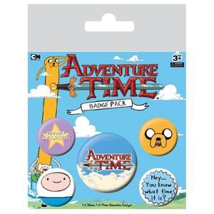 [Adventure Time: Badge Pack: What Time Is It (Product Image)]