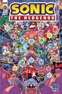 [Sonic The Hedgehog #37 (Cover B Jon Gray) (Product Image)]