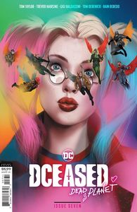 [Dceased: Dead Planet #7 (Ben Oliver Movie Homage Card Stock Variant) (Product Image)]