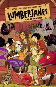 [Lumberjanes: End Of Summer #1 (Cover A Leyh) (Product Image)]