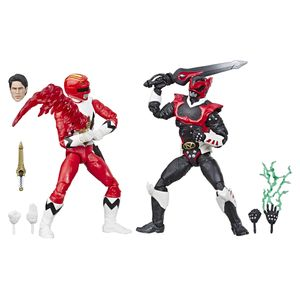 [Power Rangers: Lightning Collection Action Figure: In Space Psycho Red Ranger & Lost Galaxy Red Ranger (Product Image)]