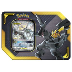 [Pokemon: GX Tag Team Tin: Pikachu & Zekrom (Product Image)]