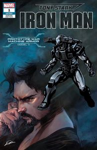 [Tony Stark: Iron Man #1 (War Machine Stark Armor Variant) (Product Image)]