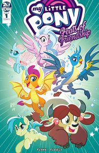 [My Little Pony: Feats Of Friendship #1 (Cover A Fleecs) (Product Image)]