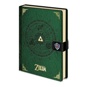 [Legend Of Zelda: A5 Premium Notebook (Hardcover) (Product Image)]