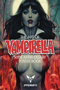 [The Art Of Vampirella: 50th Anniversary Poster Book (Product Image)]