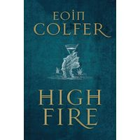 [Eoin Colfer signing High Fire (Product Image)]