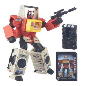 [Transformers: Generations: Titans Return Leader Wave 1 Action Figures: Autobot Blaster (Product Image)]