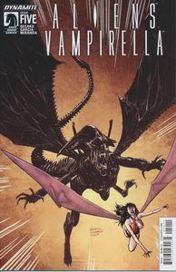 [Aliens/Vampirella #5 (Cover A Hardman) (Product Image)]