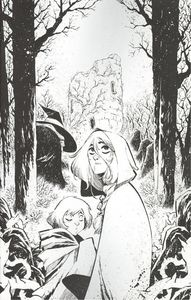 [Last Witch #1 (Corona Black & White Thank You Variant) (Product Image)]