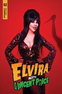 [Elvira Meets Vincent Price #2 (Cover D Photo) (Product Image)]