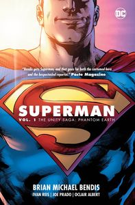 [Superman: Volume 1: The Unity Saga Hardcover (Product Image)]