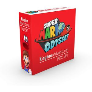 [Super Mario: Odyssey: Kingdom Adventures (Hardcover Box Set) (Product Image)]