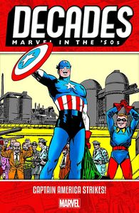 [Decades: Marvel 50's: Captain America Strikes (Product Image)]