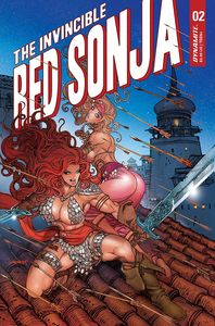 [Invincible Red Sonja #2 (Premium Moritat Variant) (Product Image)]