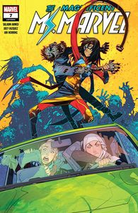 [Magnificent Ms Marvel #7 (Product Image)]