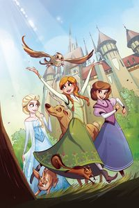 [Frozen: Breaking Boundaries #3 (Cover A) (Product Image)]