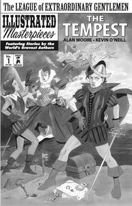 [League Of Extraordinary Gentlemen: Volume 4: Tempest #1 (Black and White Variant) (Product Image)]