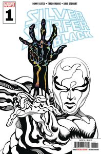 [Silver Surfer: Black #1 (3rd Printing Deodato Variant) (Product Image)]