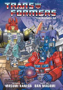 [Transformers: Classic TV Magazine Manga: Volume 2 (Hardcover) (Product Image)]