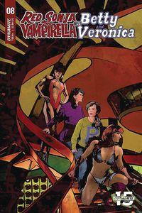 [Red Sonja & Vampirella Meet Betty & Veronica #8 (Cover E Staggs) (Product Image)]