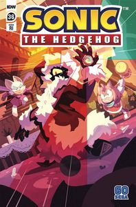 [Sonic The Hedgehog #36 (Fourdraine Variant) (Product Image)]