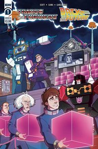 [Transformers/Back To Future #1 (Cover B Phil Murphy) (Product Image)]