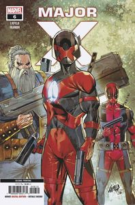 [Major X #6 (2nd Printing Liefeld Variant) (Product Image)]
