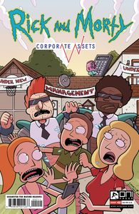 [Rick & Morty: Corporate Assets #2 (Cover A Williams) (Product Image)]