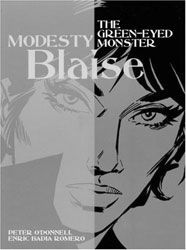 [Modesty Blaise: Volume 7: The Green-Eyed Monster (Product Image)]