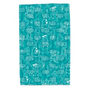 [The Flintstones: Tea Towel: Meet The Flintstones (Product Image)]